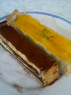 ビアードパパのケーキ