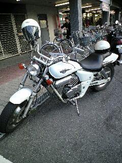 バイク初体験!